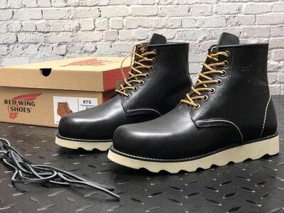 Модные мужские ботинки Red Wing, Топ качество, черные, р. 41-45, 001-12306