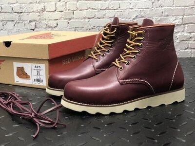 Стильные мужские ботинки Red Wing, Топ качество, бордовые, р. 41-45, 001-12307