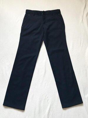 Синие мужские брюки штаны