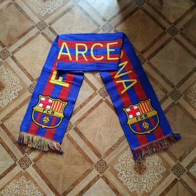 Футбольный шарф, футбольный клуб Барселона