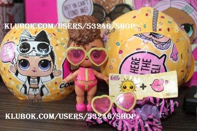 LOL Surprise Confetti POP 3 Wave 2, Кукла Лол RIP TIDE Леди Плавчиння , в наличии