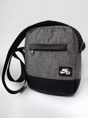 Барсетка сумка через плечо Nike unique.Купить мессенджер найк в Украине.