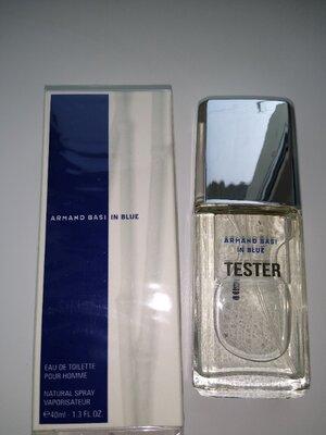 Мужская туалетная вода armand basi in blue pour homme тестер 40 мл лимитированная серия