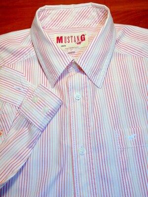 MUSTANG Шикарная брендовая рубашка - M - L