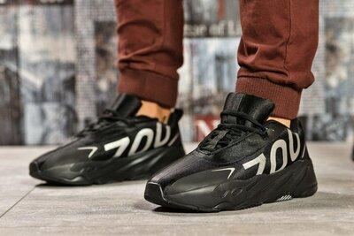 Кроссовки мужские Adidas Yeezy 700, черные