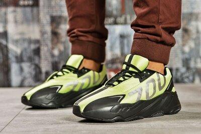 Кроссовки мужские Adidas Yeezy 700, зеленые