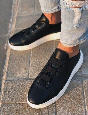Мужские кожаные осенние весенние демисезонные туфли мокасины кеды кроссовки кроссы