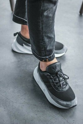 Мужские стильные кроссовки Адидас подошва boost Adidas sharks топ