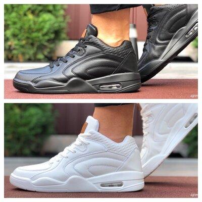 Мужские кроссовки Stilli черные и белые
