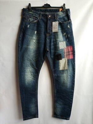 Мужские джинсы итальянского бренда Piazza Italia Оригинал Европа
