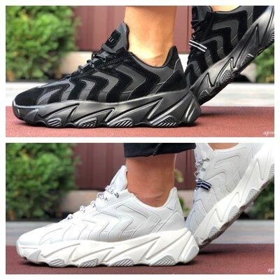Молодежные кроссовки Stilli черные и белые