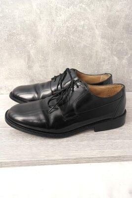 Стильные классические кожаные туфли Pronto. Размер uk10/ eur44.