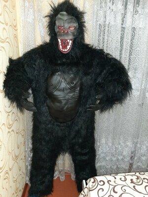 Карнавальный костюм Кинг-Конг на Хэллоуин.
