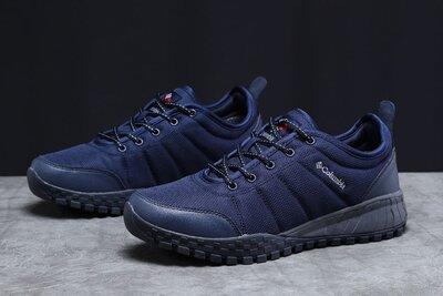 Кроссовки мужские, темно-синие