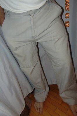 Катоновие стильние брюки штани бренд Lamborghini Ламборджини .хл-2хл .