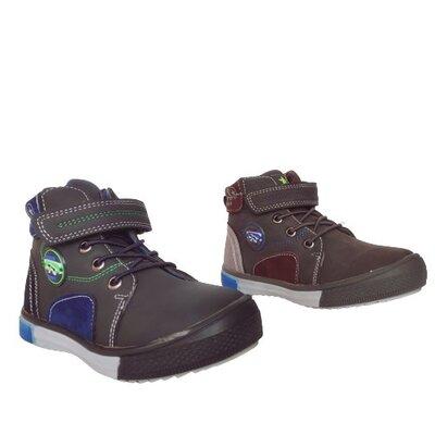 Ботинки мальчикам, р. 27, 28, 29, 30, 31, 32. теплые демисезонные кеды с защитным носком на осень.