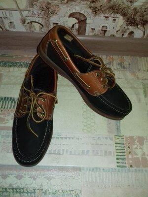 Туфли, мокасины кожаные Lumberjack Италия 26.8 см