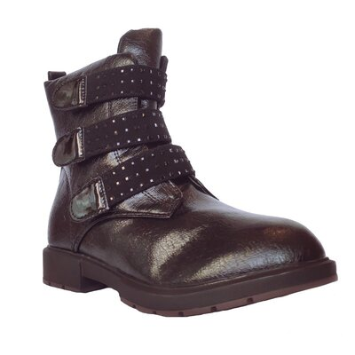 Демисезонные сапоги девочкам, р. 32, 33, 34, 35, 36, 37. Черные утепленные осенние высокие ботинки