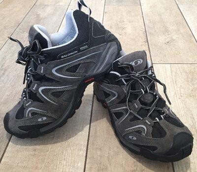 Кроссовки ботинки треккинговые Salomon Gore-tex. Размер 40, 25.5 см
