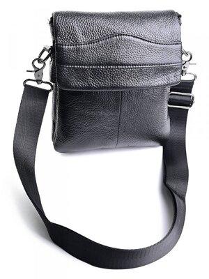 Мужская кожаная сумка чоловіча шкіряна сумочка