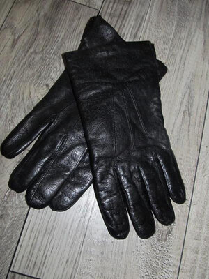 Кожаные перчатки р.9,5