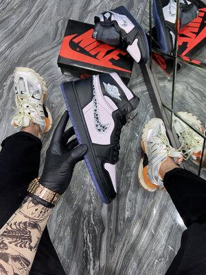 Nike Air Jordan 1 Retro High Dior Black