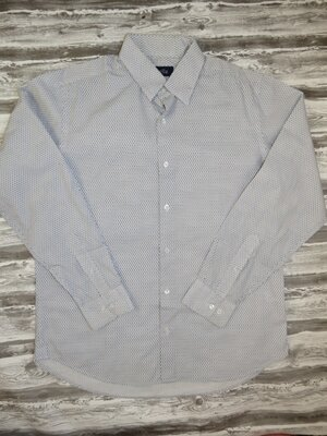 Мужская рубашка, чоловіча сорочка 100% коттон размер 50-52