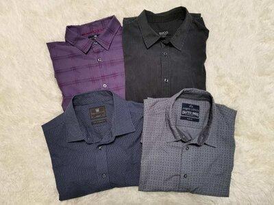 Комплект мужских рубашек р.43-44