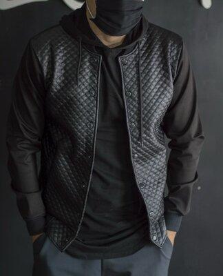 Стильная мужская куртка бомпер