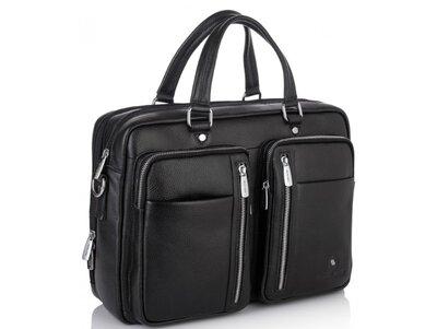 Мужская кожаная сумка для ноутбука Бесплатная доставка RB50021 портфель натуральная кожа