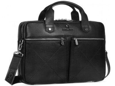 Мужская кожаная сумка для ноутбука Бесплатная доставка Rb012A портфель натуральная кожа