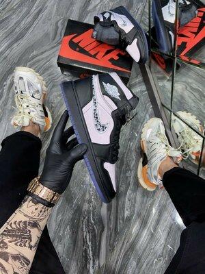 Кроссовки Nike Air Jordan 1 Retro High Dior Black
