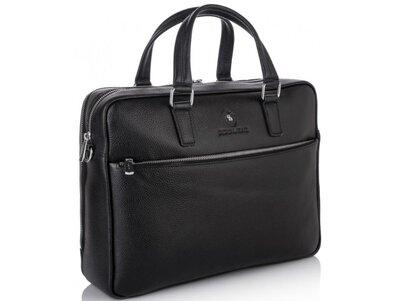 Мужская кожаная сумка для ноутбука Бесплатная доставка RB50061 портфель натуральная кожа