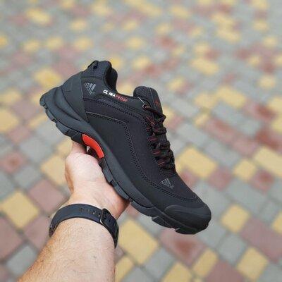 Зимние мужские Adidas Climaproof, черные 41-46р