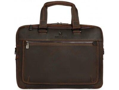 Мужская кожаная сумка для ноутбука Бесплатная доставка RB005R портфель натуральная кожа