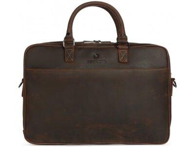Мужская кожаная сумка для ноутбука Бесплатная доставка RB026R портфель натуральная кожа