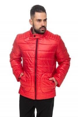 Мужская удлиненная стеганая куртка 48, 50, 52, 54