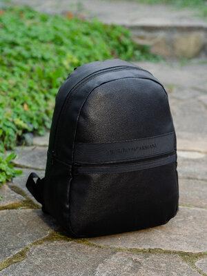 Рюкзак мужской для ноутбука школьный городской черный Армани Giorgio