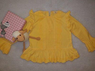 Блуза яркая River Island девочке 4-5 лет