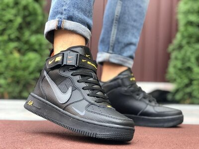 9886 Мужские кроссовки Nike Air Force термо