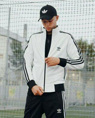 Олимпийка мужская в стиле Adidas Stich белая
