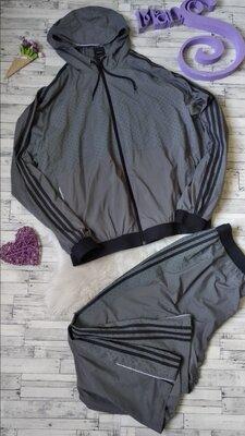 Спортивный костюм Adidas мужской серый
