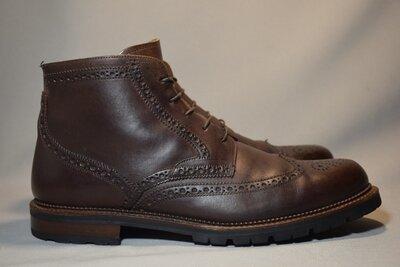 John Brommels Vibram ботинки броги мужские кожаные. Италия. Оригинал. 45-46 р./31 см.