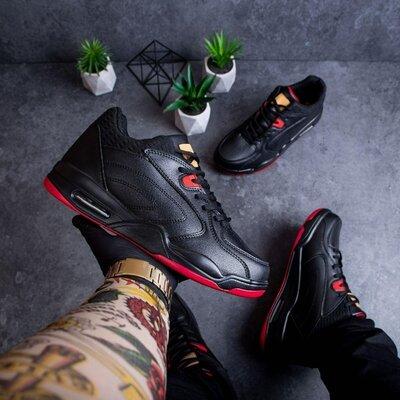 Мужские ботинки Стіллі Ролл чорні 0701