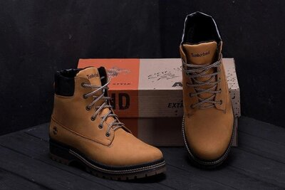 Мужские кожаные ботинки 125 риж. new