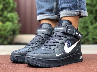 Высокие мужские осенние кроссовки Nike Air Force