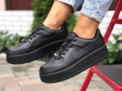 Кроссовки женские Nike Air Force AF-1, черный