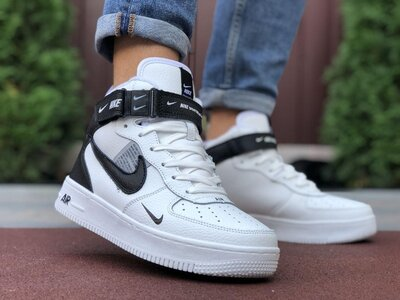 9887 Мужские кроссовки Nike Air Force термо