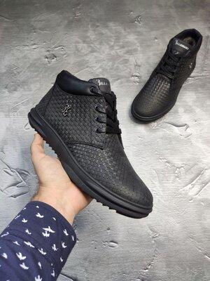 Зимние кожаные брендовые фирменные отменное качество люкс реплика ботинки зимние кроссовки кроссы ке