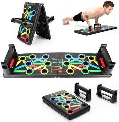 Спортивна дошка Спортивная доска Push Up Rack Board платформа для отжимания с разными хватами